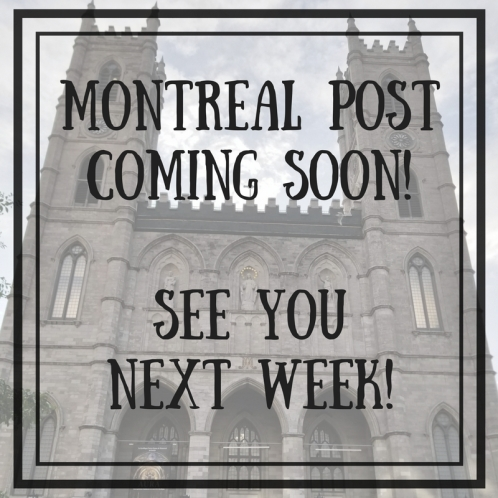 Montreal Coming Soon