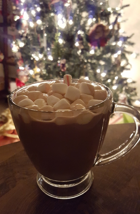 Photo 6: Peppermint hot chocolate with marshmellows