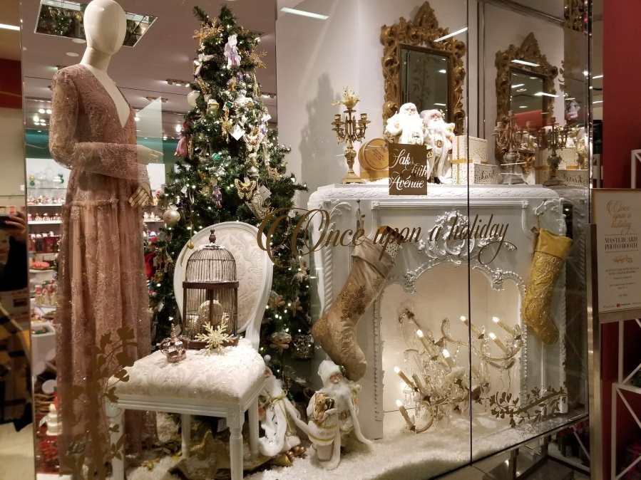 Saks Holiday Display