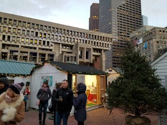 Winter Market in Boston