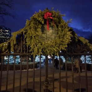 Boston Public Garden Wreath