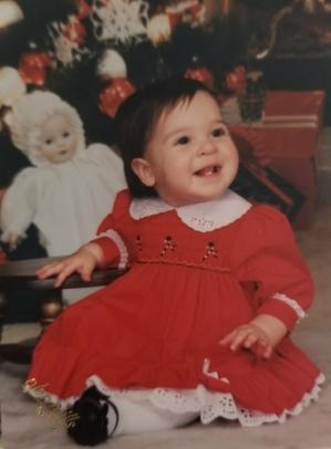 Photo 10: Sarah's second Christmas