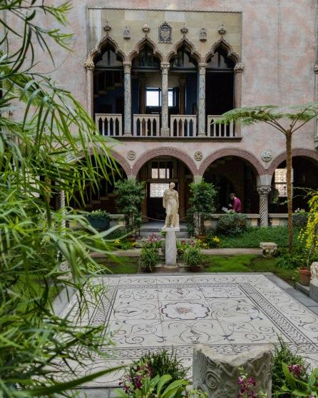 Level one - Isabella Stewart Gardner View of Courtyard