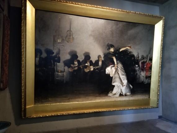 Painting on canvas in Isabella Stewart Gardner