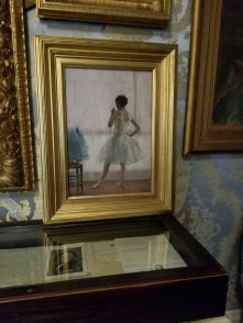 Painting of dancer in on of the galleries in Isabella Stewart Gardner
