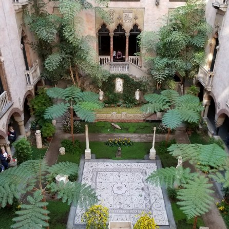 Third floor - Isabella Stewart Gardner View of Courtyard from above