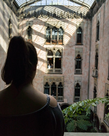 Level three - Isabella Stewart Gardner View of Courtyard