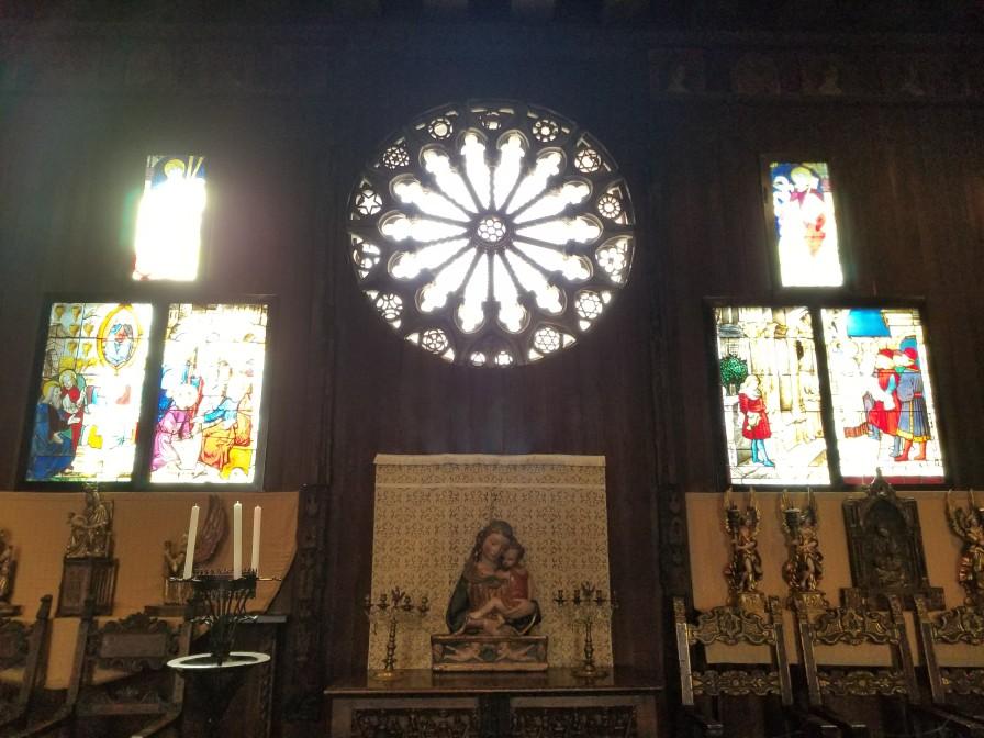 Use of light in Isabella Stewart Gardner