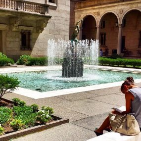 Boston Public Library Courtyard - Boston Hidden Gems
