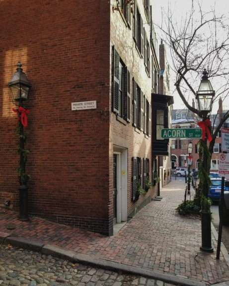 Acorn Street - Boston Hidden Gems