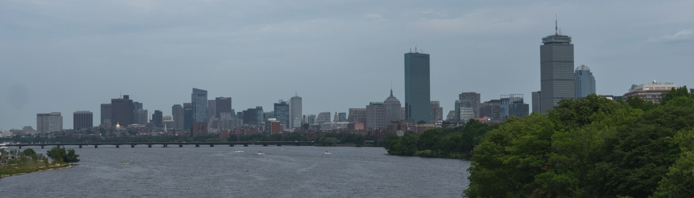 View from BU Bridge - Boston Hidden Gems