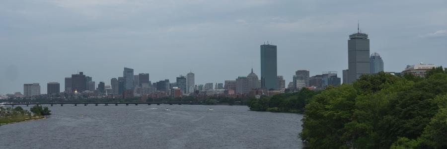 View from BU Bridge - Boston Hidden Gems