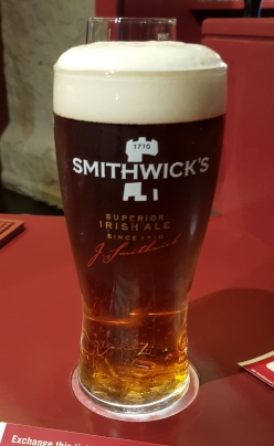 Smithwicks Pint in Kilkenny - Eastern Ireland Ancient East