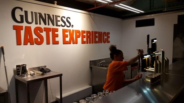 Dublin Gravity Bar at Guinness - Eastern Ireland Ancient East