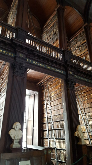 Trinity College Library in Dublin - Ancient Eastern Ireland