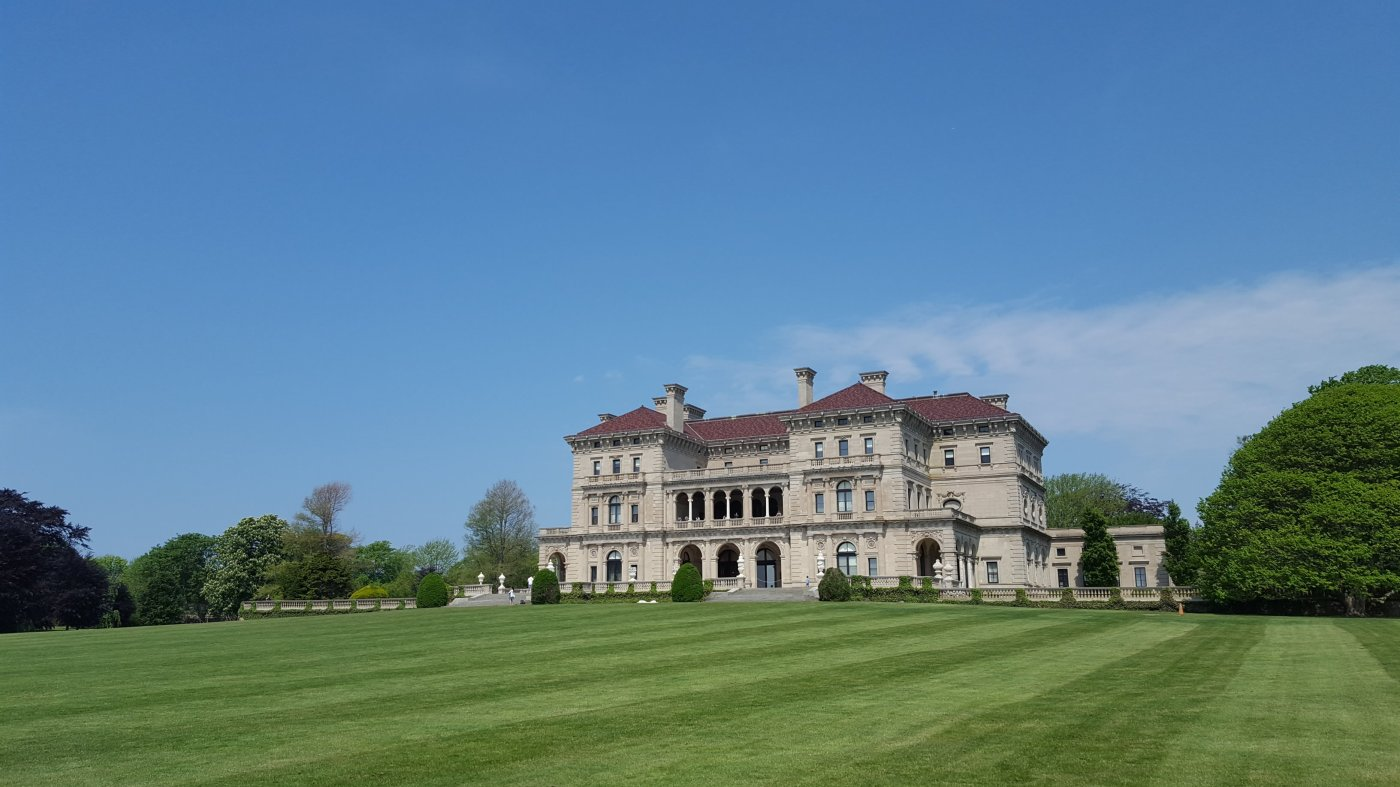 Newport RI - Mansions, Cliff Walk