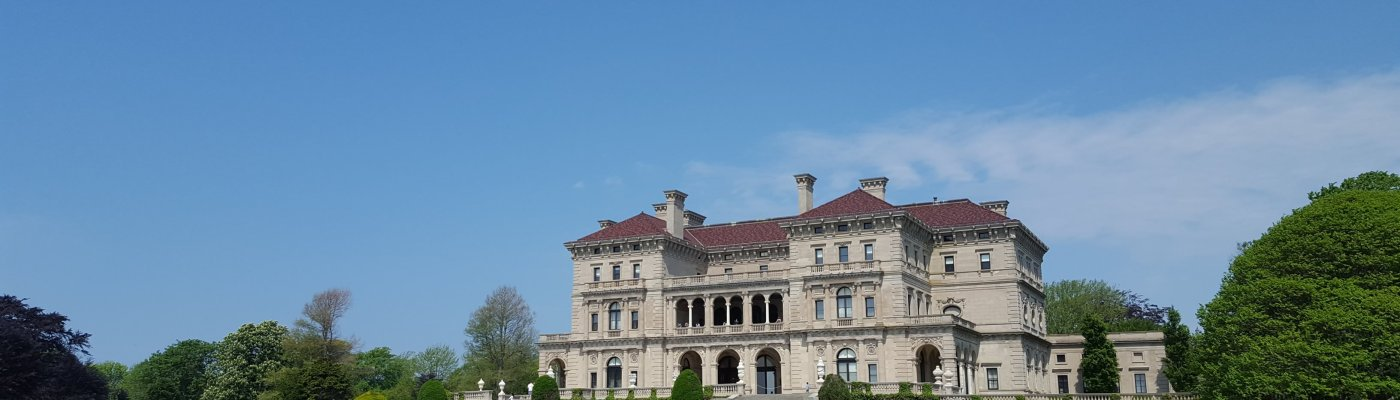 Newport RI - Mansions, Cliff Walk