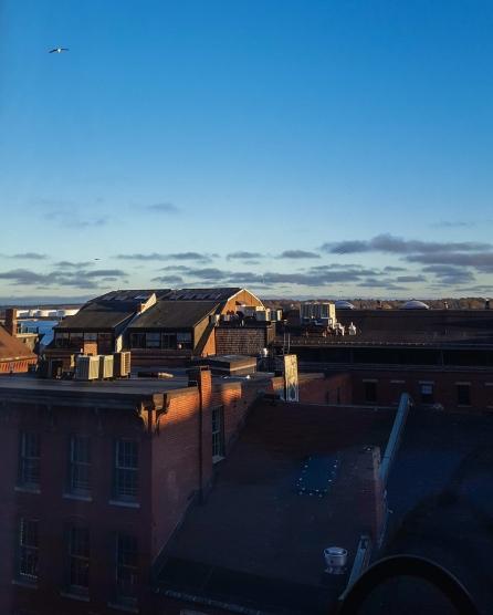 24 hours in Portland, Maine - View from Hyatt Hotel in Portland, Maine