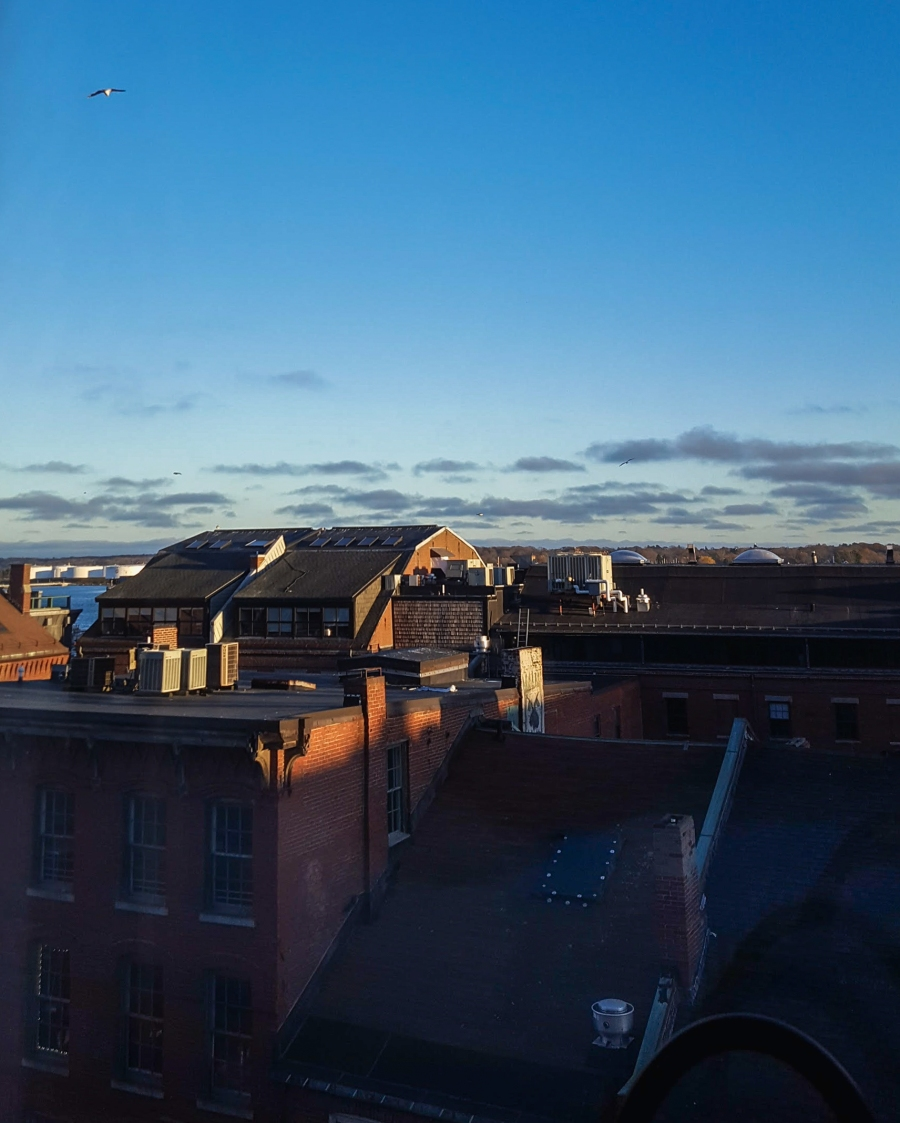 24 hours in Portland, Maine - View from Hyatt Hotel in Portland, Maine
