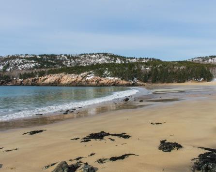 Sand Beach - Acadia National Park, Maine