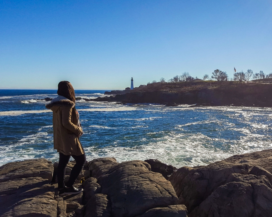 24 hours in Portland, Maine - Cape Elizabeth Lighthouse