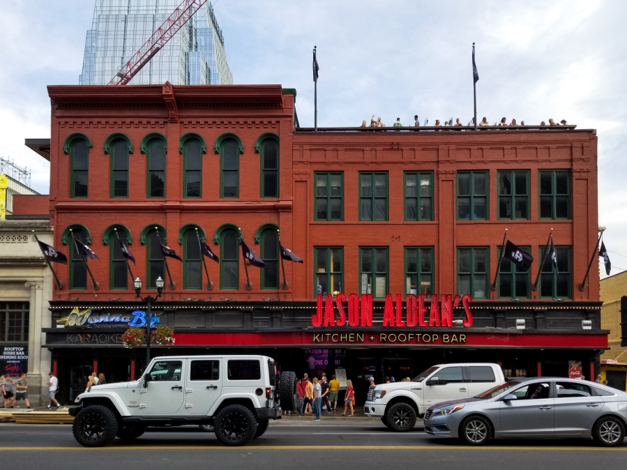 13 Not-to-Miss Experiences in Nashville, Tennessee - Jason Aldean's Lower Broadway