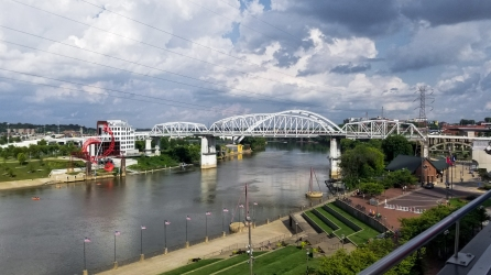 13 Not-to-Miss Experiences in Nashville, Tennessee - Pedestrian Bridge view from the george jones