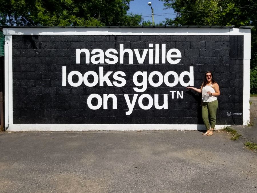10 Fun Photos from Music City, U.S.A. - Wall art on 12 South, Nashville