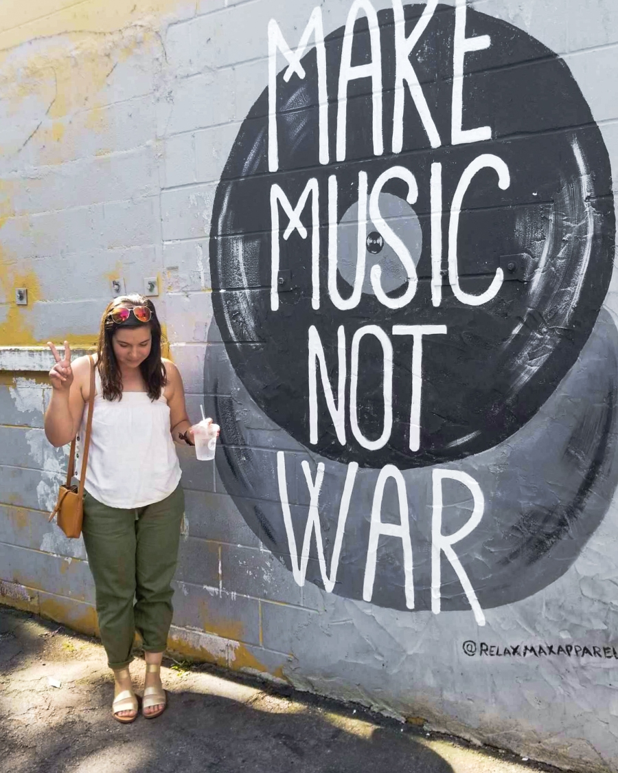 10 Fun Photos from Music City, U.S.A. - 12 South Wall Art, Nashville