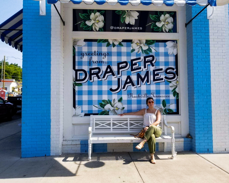 10 Fun Photos from Music City, U.S.A. - Draper James by Reese Witherspoon on 12 South, Nashville