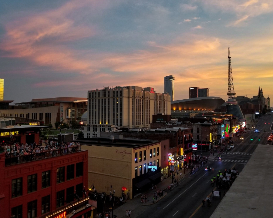 10 Fun Photos from Music City, U.S.A. - Honky Town Highway and Bridgestone Arena, Nashville