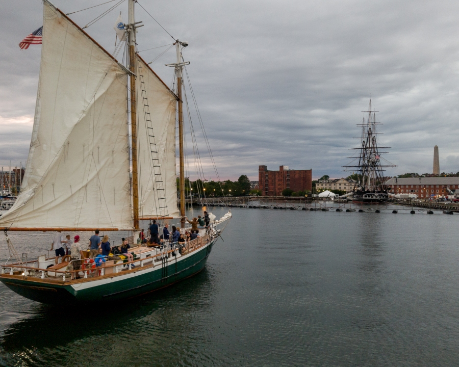 Boston Harbor USS Constitution Date Night, 5 Things Acting Like a Tourist in Your Own City Can Teach You