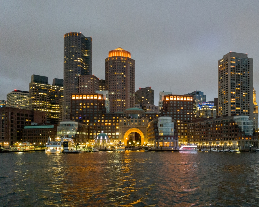 Boston Harbor at Night - 5 Things Acting Like a Tourist in Your Own City Can Teach You