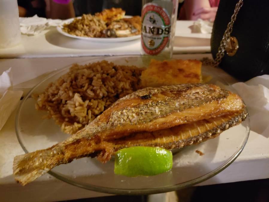 Fish Fry Grand Bahama Bahamas
