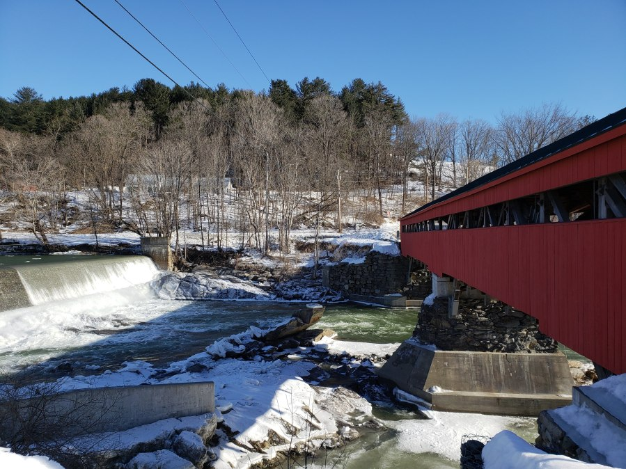Taftsville Covered Bridge in Woodstock, VT