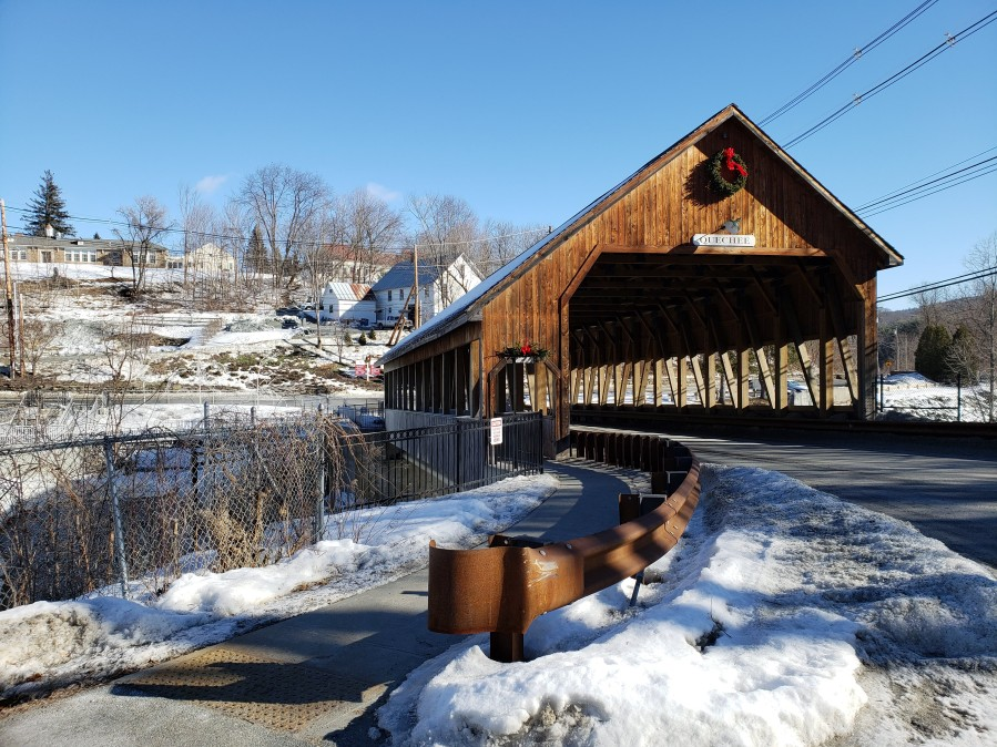 Quechee Covered Bridge, Woodstock, Vermont