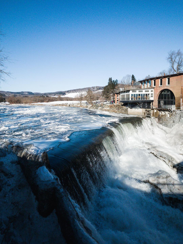 Woodstock, Vermont winter weekend getaway in Vermont