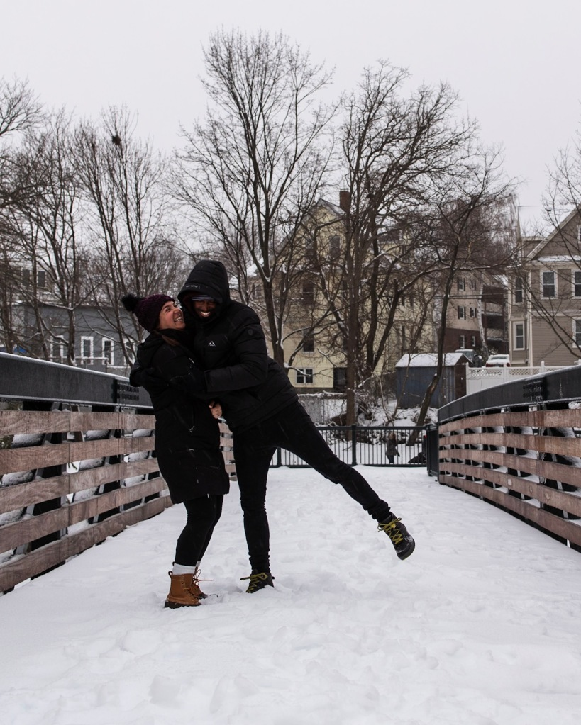 snowy winter fun in boston and watertown