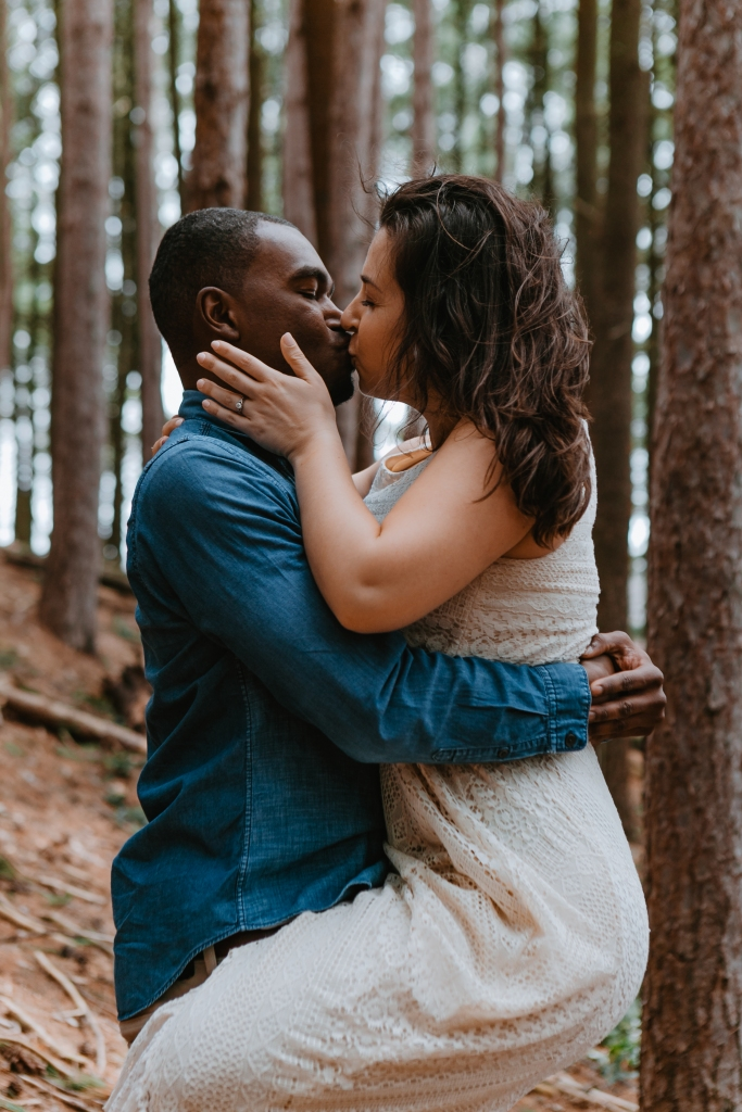 Reading Town Forest - Massachusetts Engagement Photos