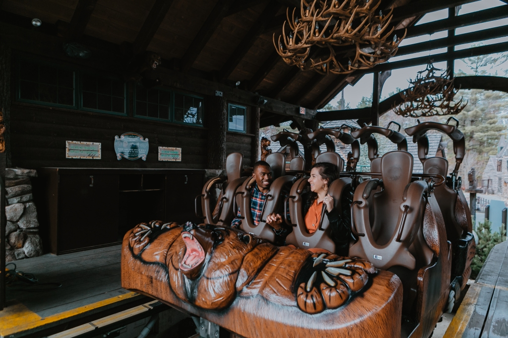 Canobie Lake Park - Engagement Photos