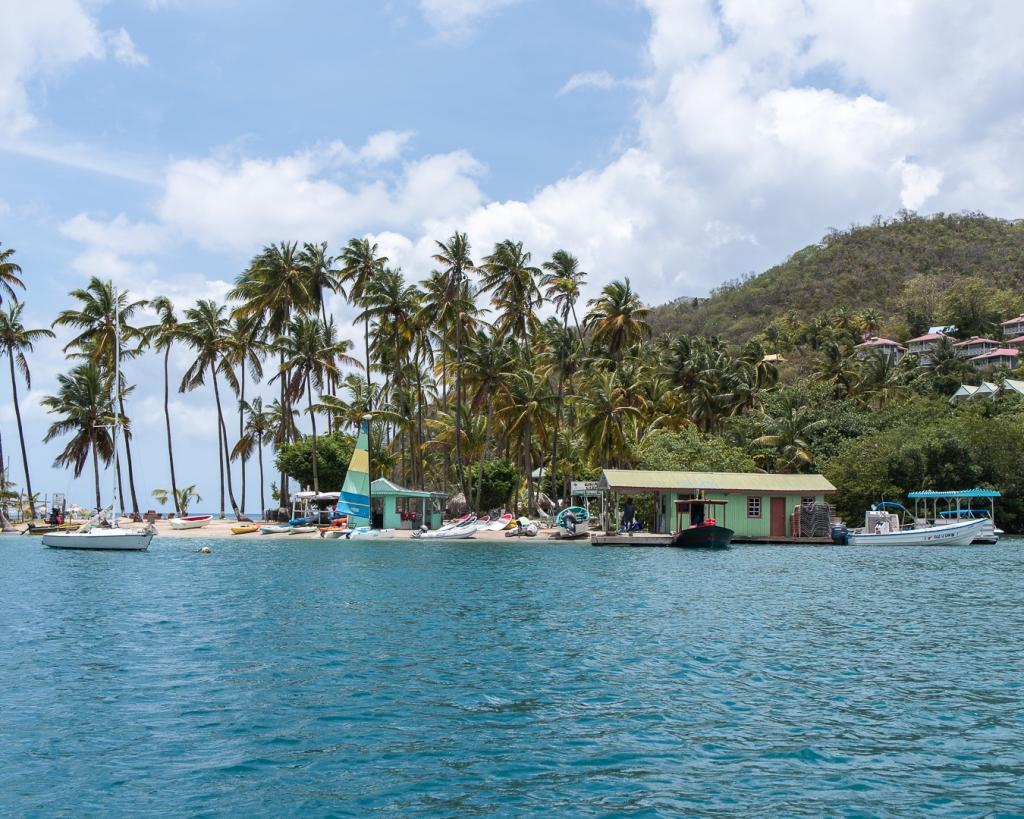 Adult Spring Break St. Lucia - Marigot Bay