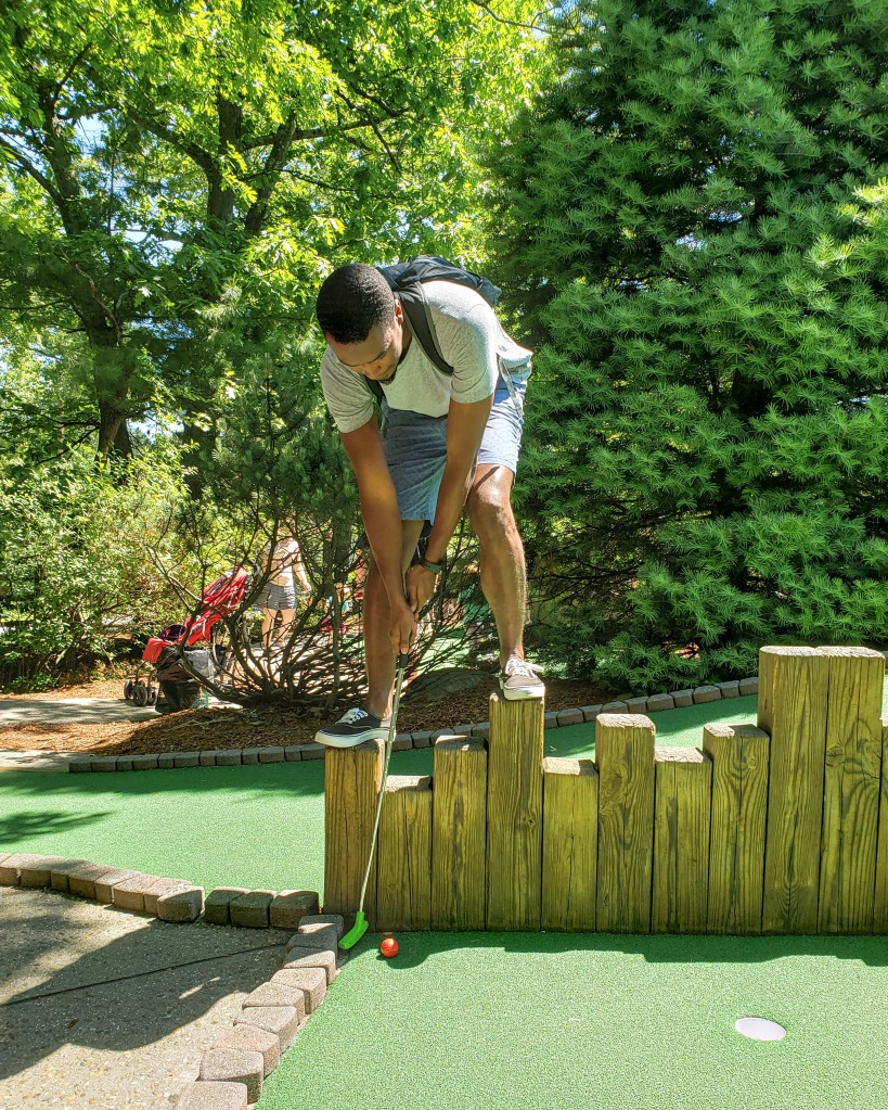 Date Day - Westford Massachusetts Mini Golfing Summer Outdoors