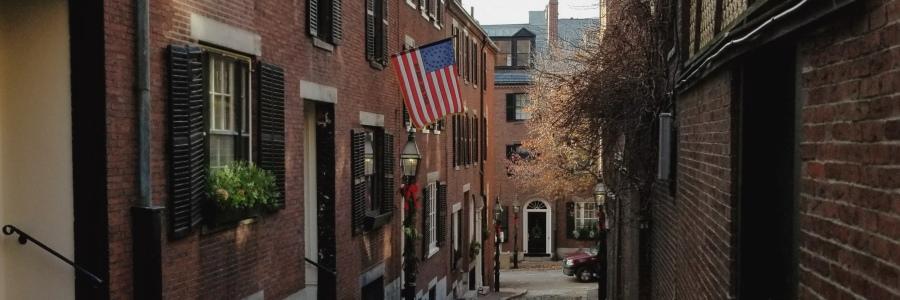 Labor Day Weekend, Acorn street boston