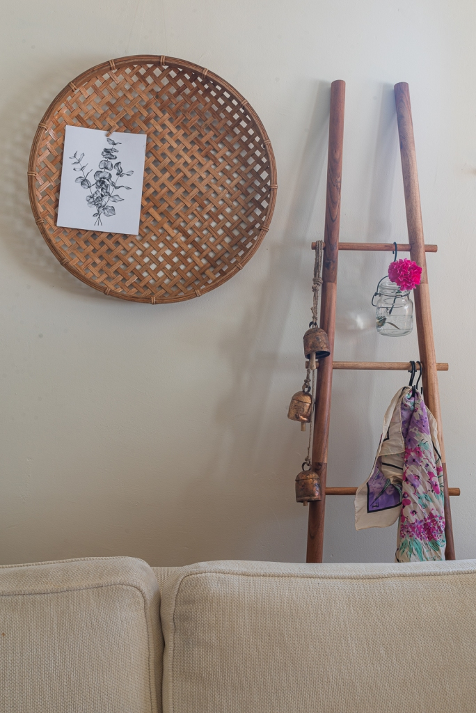 Decorative Ladder Styling, Home Decorating and Interior Design